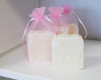 Rose soap with Argan oil, Shea butter and Rose Essential oil