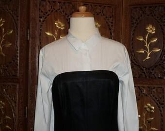 Narcisco Rodriquez Black Strapless  Gown Sz 10