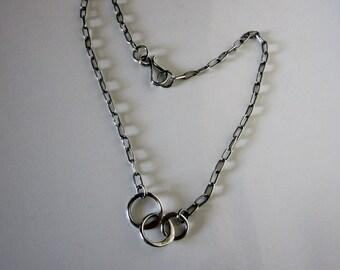 Bella's Three Circles Of Life Necklace