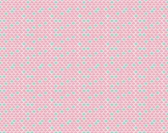 Lulabelle Scallop Pink Fabric C5064 P Riley Blake