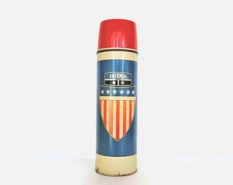 Vintage Bicentennial King-Seeley Thermos 1975