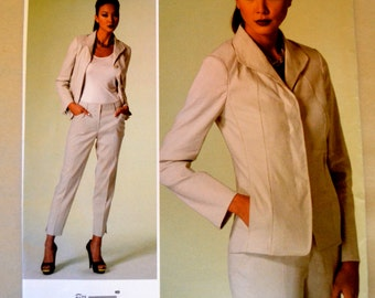 Vogue V1293 Anne Klein Misses Jacket & Pants Size 14-22 UNCUT