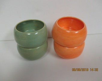 Set of Two Small Stoneware Bowls