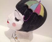 kawaii hair clip colourful umbrella christmas present gift party limited edition hair accessory cute girls