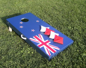 ACA American Handmade Deluxe Custom Themed Cornhole Board Set