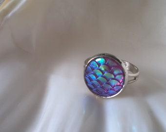Mermaid Ring,Mermaid Jewelry,Dragon Scales,Mermaid Scales,Ring