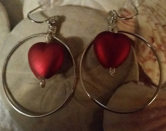 Hearts Around Earrings