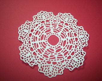 Delicate Doily Die Cuts Set of 4