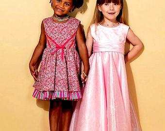 Flower Girl Dress Pattern, Little Girls' Special Occasion Dress Pattern, Girls' Dress Pattern,  McCall's Sewing Pattern 7311