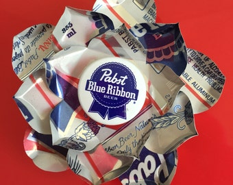 PBR PABST Lotus Can Hair Flower