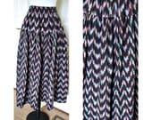 Vintage Ek -Chuah hippie, boho, gypsy skirt