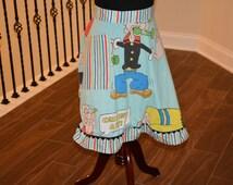Popeye Reclaimed Fabric Apron
