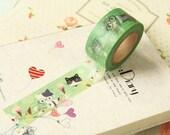 Cute CATS Sweet Cartoon Washi Masking Tape