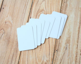 50pc Pale LILAC Eco Series Business Card Blanks