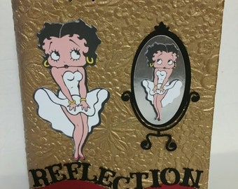 Customized Black Betty Boop Journal