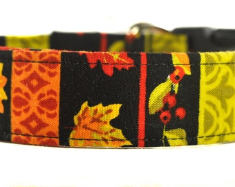 Fall Dog Collar - The Autumn