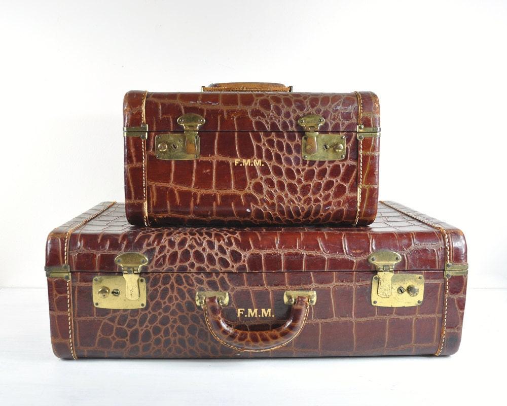Vintage Luggage Set 73