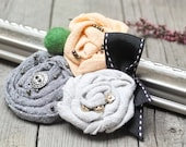 Fabric BROOCH Pin Petal Flower Pin Organza Satin handmade, handmade BROOCH, accessories for women