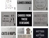You Choose the Design on Old Navy Relaxed V-Neck Tee Grey or Navy S-XL - 8 Designs to Choose From!