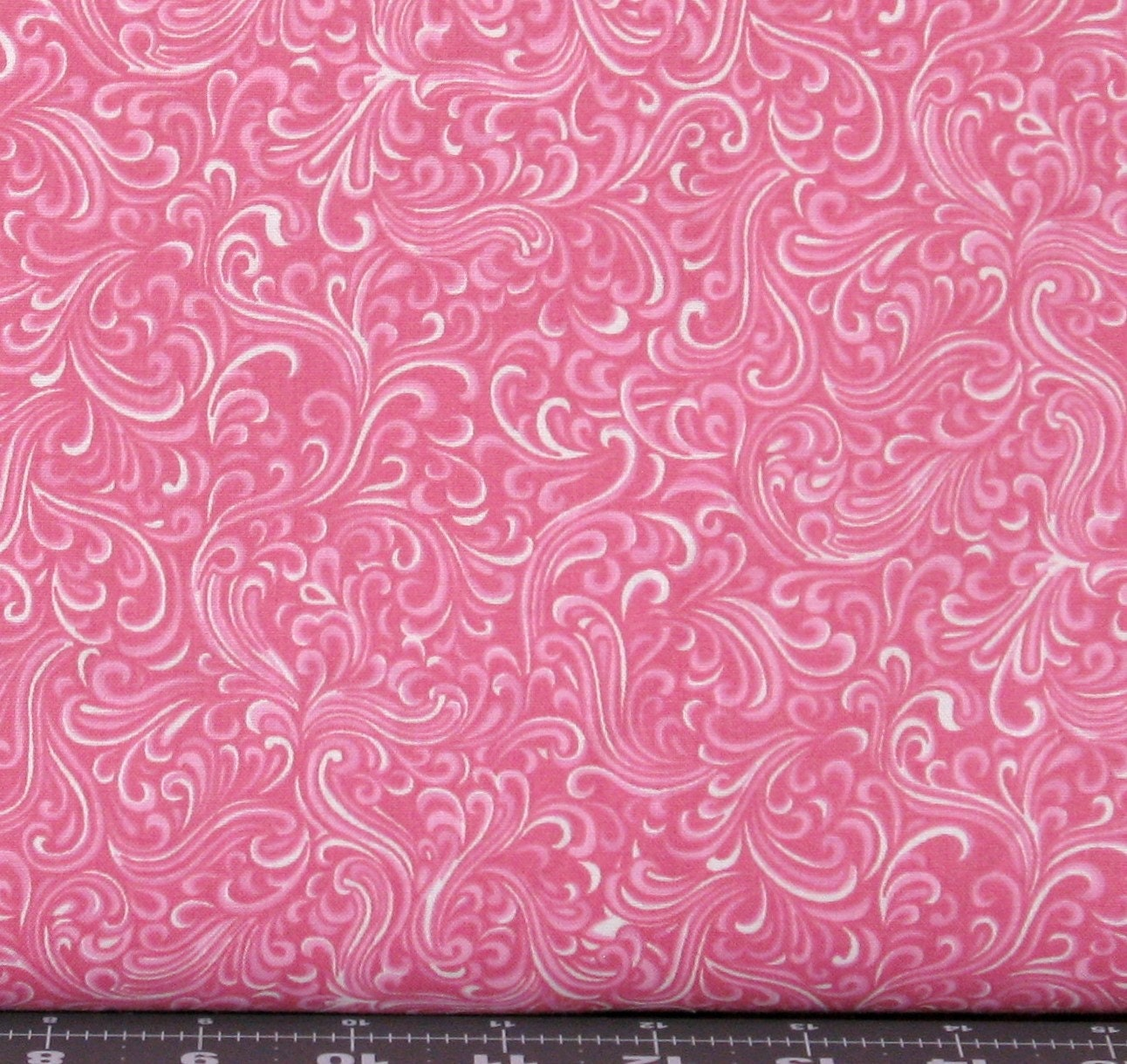 End of bolt 31 breezeway in pink 100 cotton quilt for Quilting fabric sale