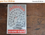 ON SALE 40% OFF Philadelphia Athletics Scorebook - E2130