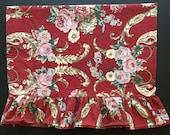 Vtg Ralph Lauren Pillowcase with Roses