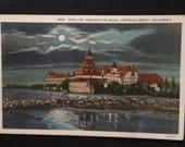 Vintage Postcard - Hotel Del Coronado By Night - California - Unused