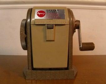 Vintage 1960's   Dexter Super 10 Pencil Sharpener