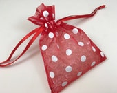 Sachet Scent Sacks Fragrance Beads in Organza Bag One Sack Choose Your Scent