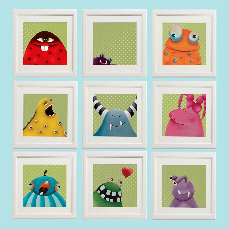 Curtains For Baby Girl Nursery: Nursery Print Set Baby Decor Nursery Art Baby Girl Nursery