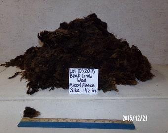 Black Lamb Wool Lot 103 2015