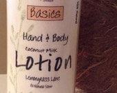 98% Natural Coconut Milk BODY LOTION-4 fl oz