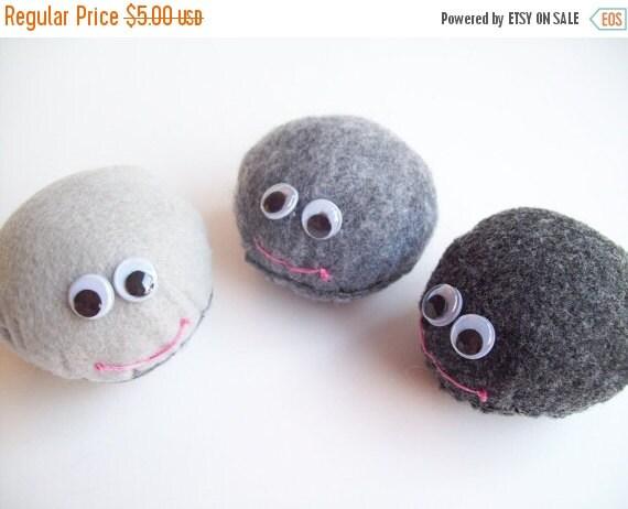 ON SALE Smiling Pet Rock Plush-Large (Choose 1)