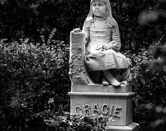 Gracie Watson Fine Art Print Bonaventure Cemetery
