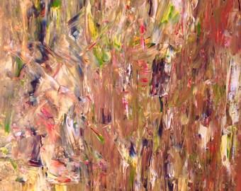Louie Abstract Art Print
