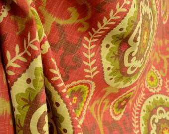 Inner Soul Cayenne Suzani Print Waverly Fabric