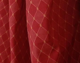Richloom Fabric Lattice Rose