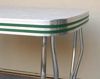 Vintage Formica and Chrome Table local PICK UP ONLY