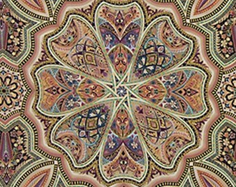 Lumina 2 Dawn Medallion- Robert Kaufman - 1 yard - More on Order - BTY