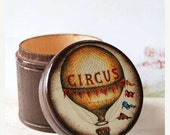 MOTHERS DAY SALE The Circus Is Coming To Town Wood  Box