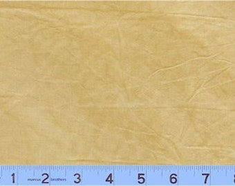 Marcus Aged Muslin - Full or Half Yard Hand Dyed Sienna Parchment Distressed Blender - Y140-140D