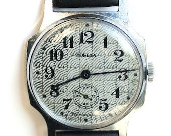 25% OFF ON SALE Wrist watch mens watch Pobeda grey watch men watch