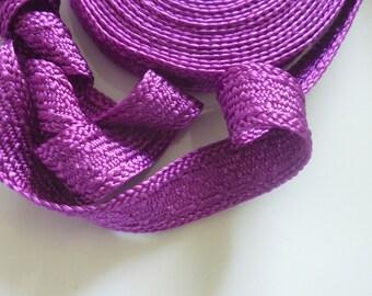 Art silk Moroccan trim, light purple , textured trim,  5metres