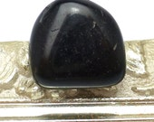 Jet Gemstone Black Cabochon Tumble Rare English Brittish Gem Fossilized Wood Fossil Perfect for Wire Wrapping