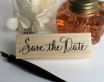 Save the Date rubber stamp - Large