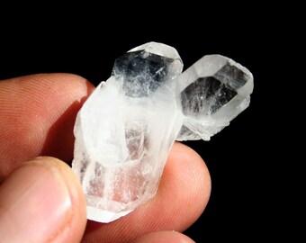 Faden Quartz Double Terminated Tabby Crystal