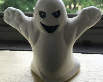 Vintage ceramic ghost figurine 3 1/2 inches tall