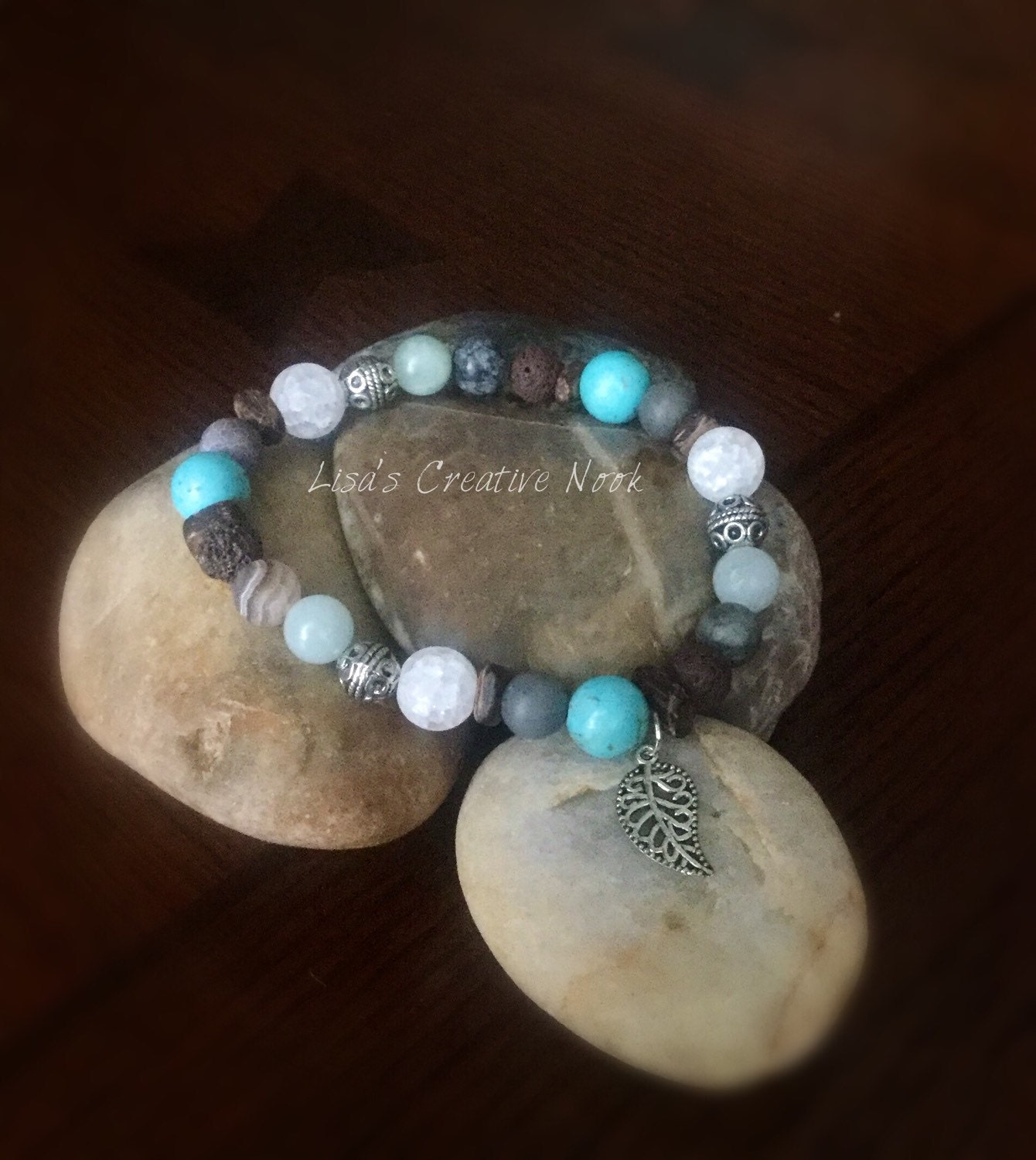 Essential Oil Diffuser Bracelet Stretch Bead Bracelet