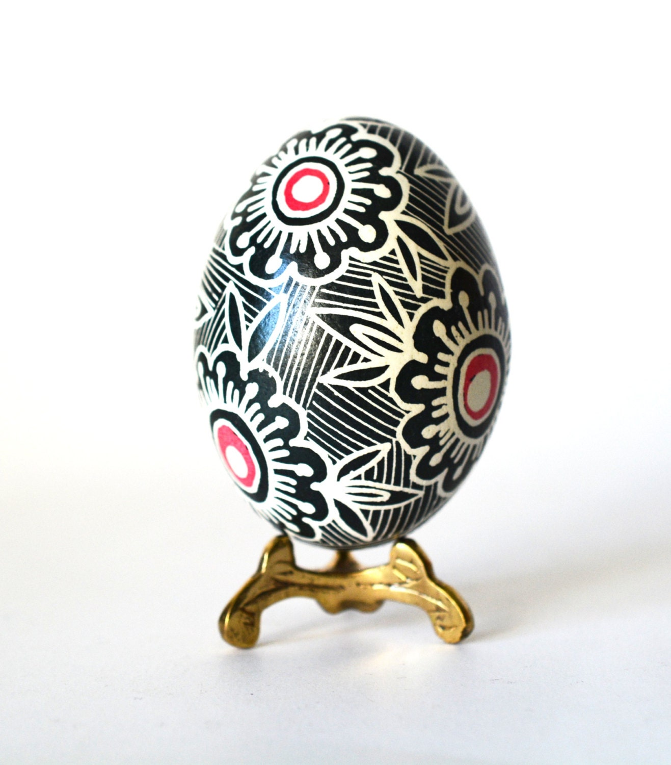 Black And White Whimsical Home Decor By Ukrainianeastereggs