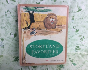 Storyland Favorites Vintage Book